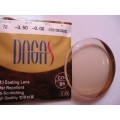 DAGAS/GLIMMERS 1.56 SP HMC EMI UV380 BROWN-15%